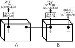 [SCHEMATICS_4UK]  trolling motor wiring | 12 24 Volt System Wiring Diagram |  | Reynolds Racing and Marine